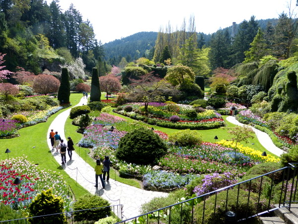 The Sunken Garden, site of the original quarry, is the undisputed centerpiece of The Gardens.