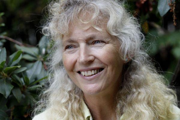 Landscape designer Kate Frey revels in the four-season pollinator garden she designed in Hopland.