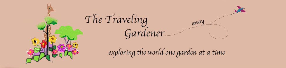 The Traveling Gardener Logo